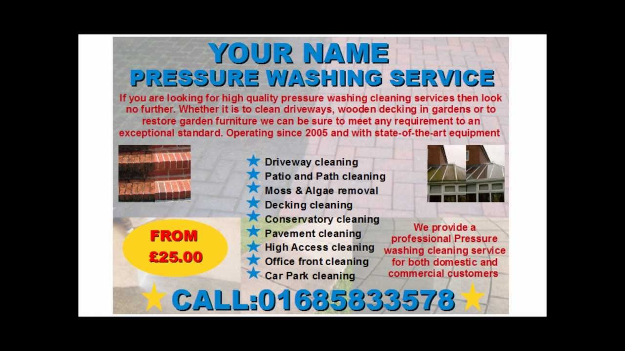 cleaning flyers examples