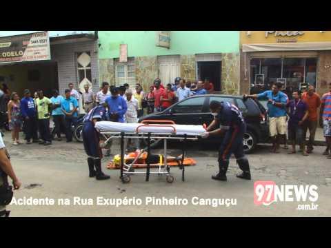 ACIDENTE RUA EXUPÉRIO PINHEIRO CANGUÇU