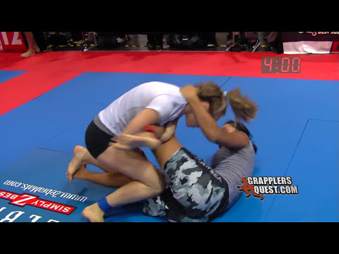 SUBMISSION: Chasity DeLeon  vs Rose Namajunas at Grapplers Quest West 2011 Grappling Action