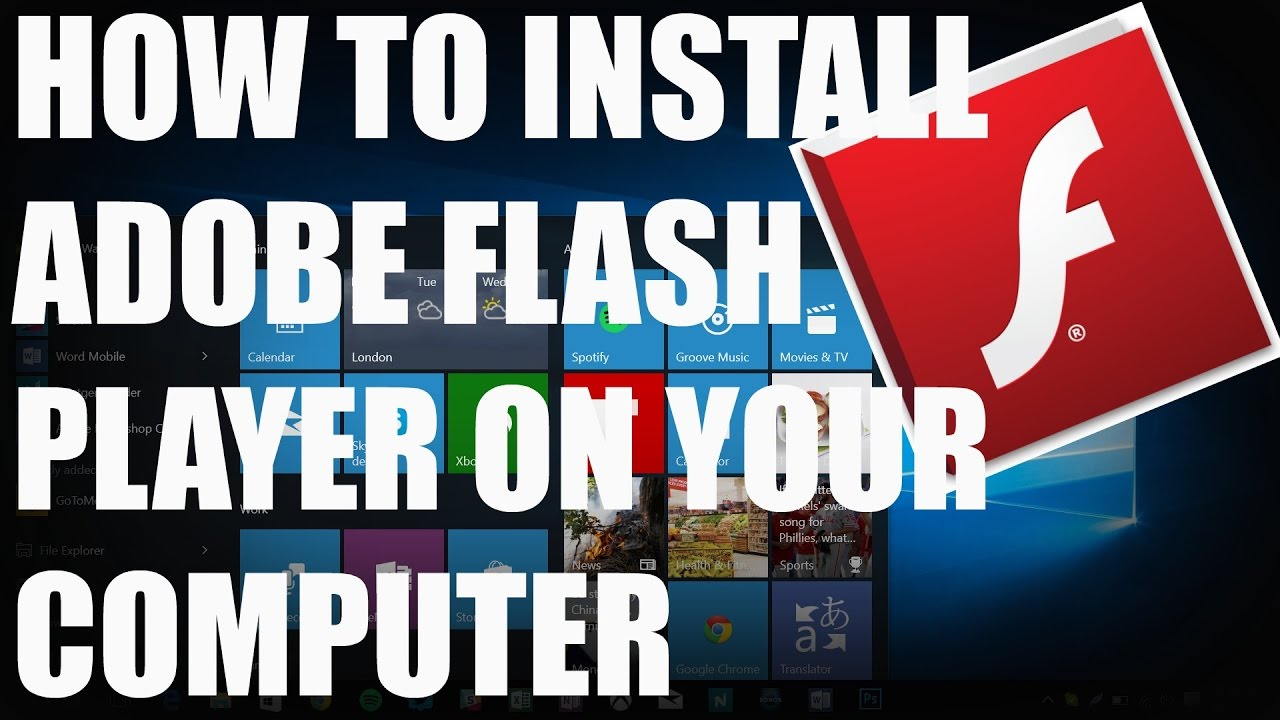 adobe flash player download free for windows 10