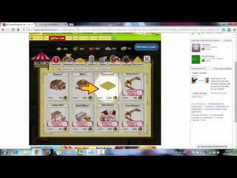 How to get 77777 cash and 5m gold in Social empires No Download