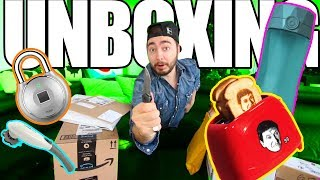 "UNBOXING Items I Bought From ""Buying Every Advertisement!"" (PART 1)"