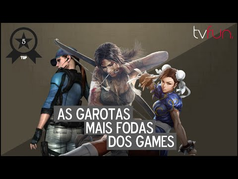 Top 5 - As mais FODAS dos Games