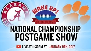 National Championship Postgame Show 2017: Alabama vs Clemson