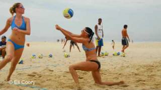 Beach Volleyball Olympic Training Brazil