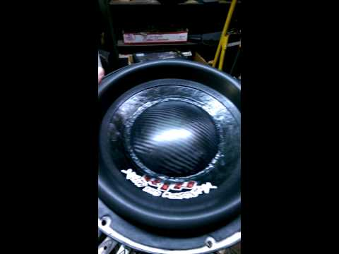 Wall socketing a Sundown ZV3 12 Inch Subwoofer