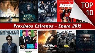Próximos estrenos de películas 2015