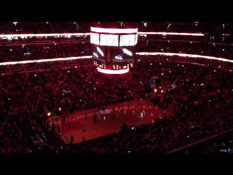 FULL CHICAGO BULLS INTRO vs Miami Heat 2014