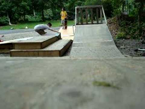 my backyard skatepark youtube
