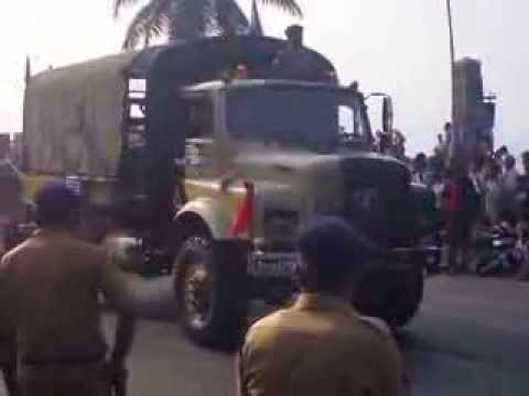 First ever Republic Day Parade 2014 Mumbai