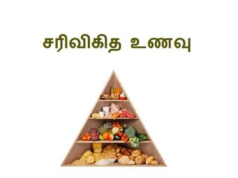 சரிவிகித உணவு balanced diet in tamil