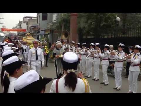 Đội ngũ kèn đồng của Dịch vụ tang lễ Tâm Đức ở Hải Phòng - Phục vụ tang le Hai Phong chuyên nghiệp