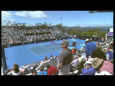 Samantha Stosur vs Kristina Mladenovic, Hobart International 2014 - Full Match