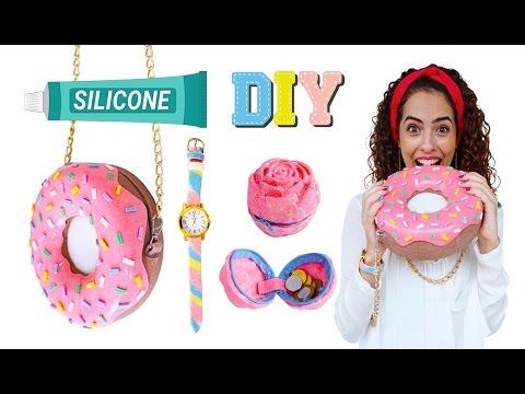 POLYSTIC USO GERAL - DIY: Bolsa donut