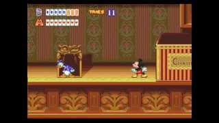 Mega Drive Longplay [140] World Of Illusion Starring