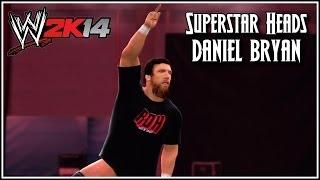 WWE 2K14 Superstar Heads Bryan Danielson (Daniel Bryan