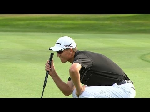 John Senden drains long birdie putt at Valspar