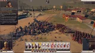 Total War: Rome II Prologue Campaign ~ Battle Gameplay