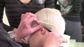Cutting Short Hair How To Perform Round Graduation