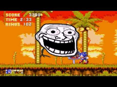 Dinam Gameplay - O começo, Sonic e peitos.