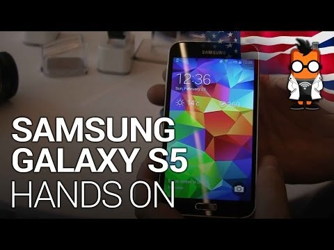 Samsung Galaxy S5 Hands On at MWC 2014
