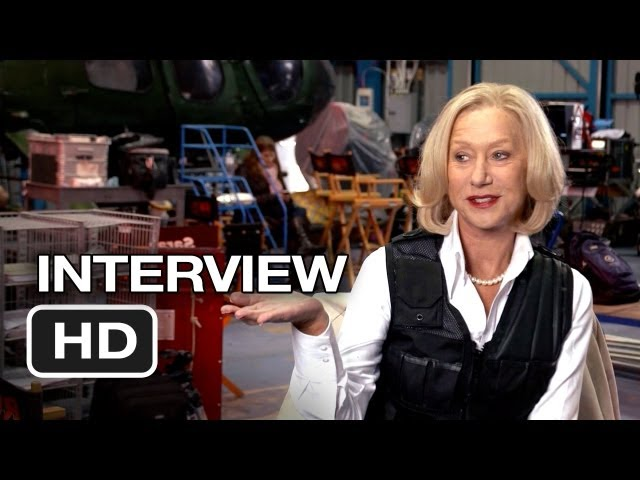 Red 2 Interview - Helen Mirren (2013) - Bruce Willis, Mary-Louise Parker Movie HD