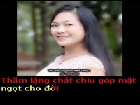 LÀ CÔ GIÁO NHỎ - Thơ  : Hồ Tịnh Văn - Phổ nhạc : Hải Anh karaoke khong loi