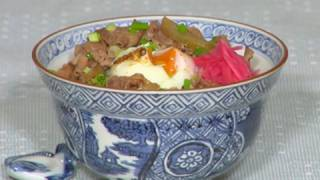 Delicious Gyudon Recipe (Healthy Beef Bowl with Reduced Fat Content) | Cooking with Dog