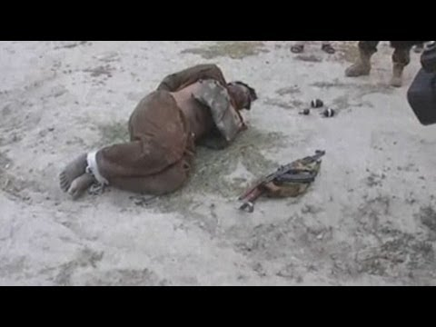 Afghan troops disarm suicide bomber's vest