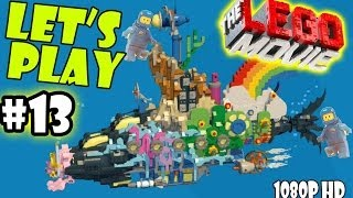 Let's Play LEGO Movie Part 13: Escape From Cloud Cuckoo