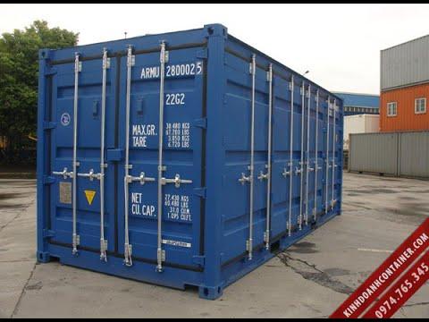 Quy trình sản xuất mới container khô 20 feet