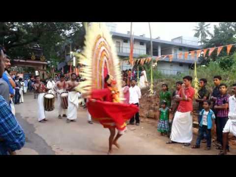 Pandimelam theyyam Kali