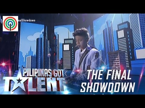 Pilipinas Got Talent Season 5 Live Finale: Kurt Philip Espiritu - Singer