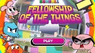 Games: Amazing World Of Gumball Fellowship Of The Things