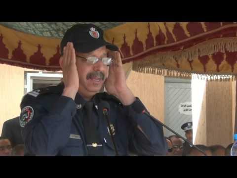 تلاوة قرآنية خاشعة لشرطي من الرشيدية