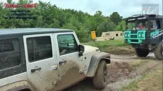 Abenteuer Allrad 2012 - Jeep Wrangler von ALLRAD SCHMITT im Offroad Parcour videos