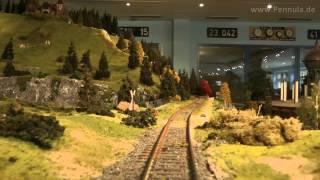 Führerstandsmitfahrt Bergbahn mit Gleiswendel Spur 1 Modellbahn