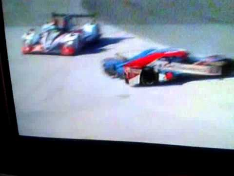 Deltawing Spins @ 2014 Daytona 24H