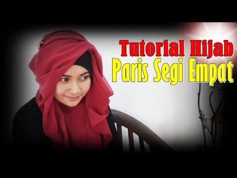 Video Cara Memakai Jilbab Segi Empat Modern #by Nica 193