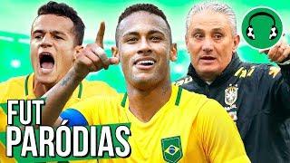 ♫ OS CONVOCADOS PRO HEXA | Paródia Contatinho - Nego do Borel ft. Luan Santana