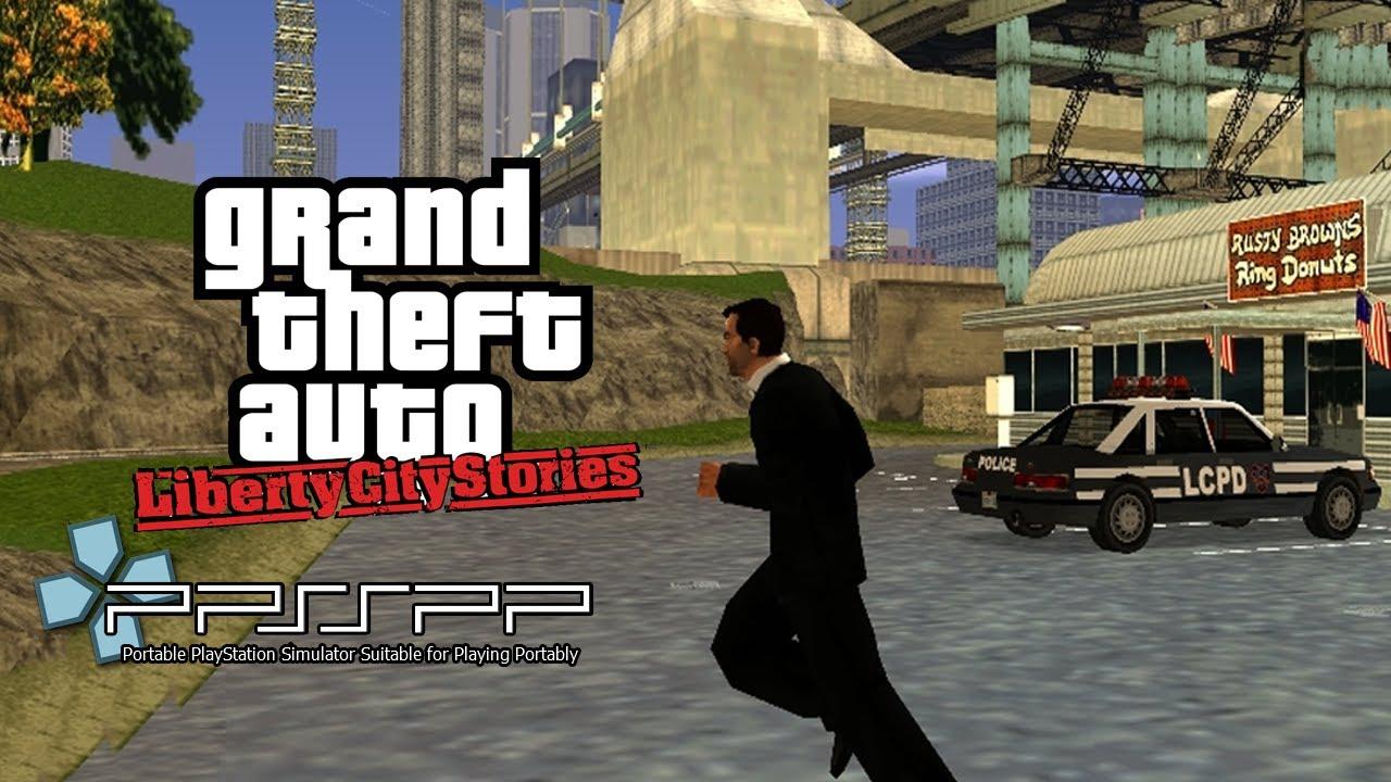 Gta Liberty City Stories Gameplay Ppsspp Psp Emulator Youtube