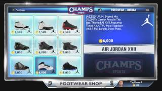 NBA 2k14: All Sneakers In Game! Which Is Most Expensive Shoe?