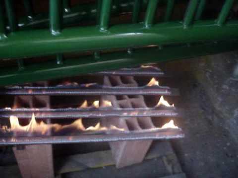 horno casero para secado de pintura