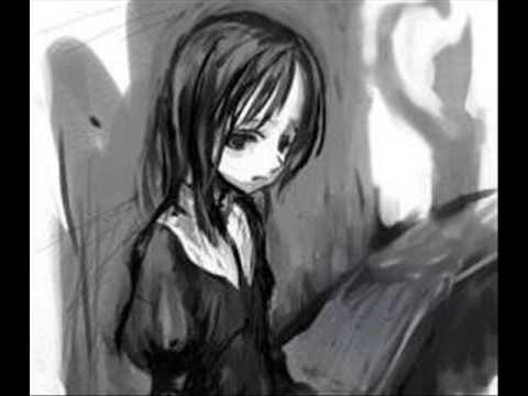 Emo triste llorando anime - Imagui