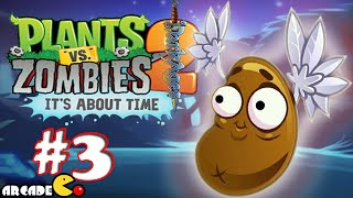 Plants Vs Zombies 2: New World Dark Ages Night 3 Gameplay