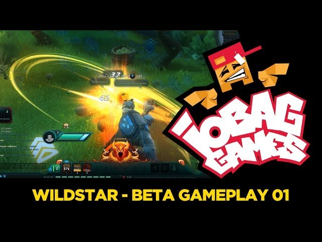 IOBAGG - WILDSTAR Beta Gameplay 01