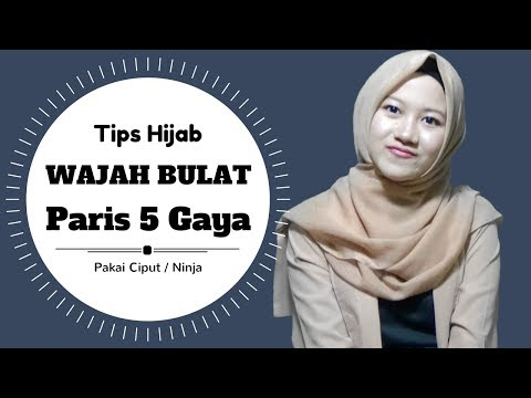 Tutorial Hijab Untuk Wajah Bulat 5 Gaya Agar Terlihat Tirus #NMY Hijab Tutorials