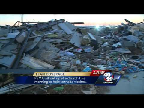 FEMA to help tornado victims in Vilonia Thursday