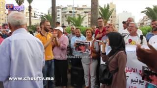 بالفيديو..وقفة تضامنية مع معتقل حراك الريف الذي دخل في إضراب عن الطعام بعكاشة ربيع الأبلق أمام مستشفى مولاي يوسف |