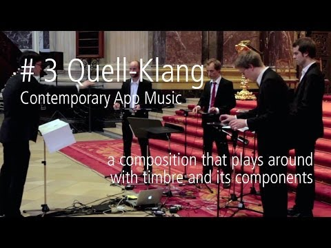 Quell-Klang - Contemporary App Music @Berlin Cathedral 6|6|2013